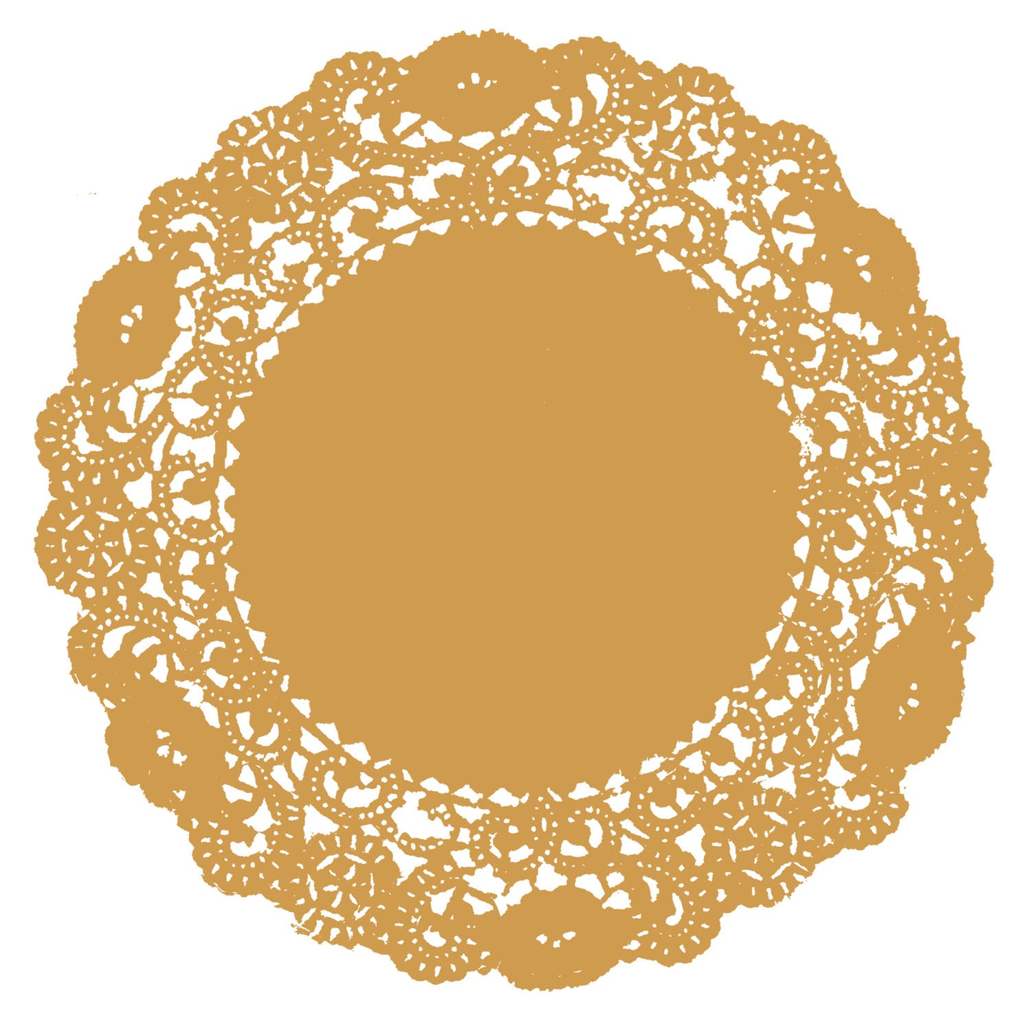 Beeswax Gold Doily