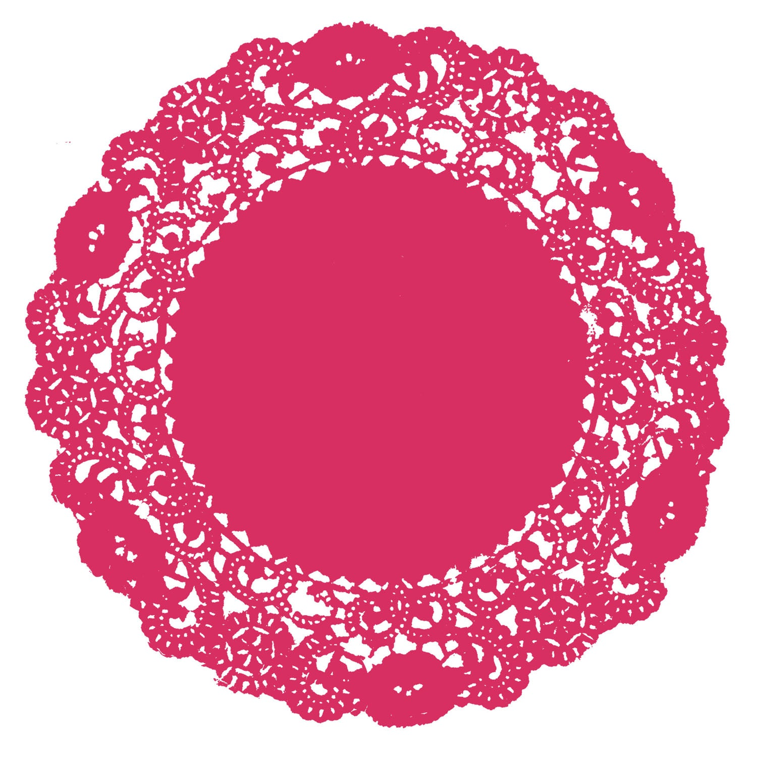 Cupid Pink Doily