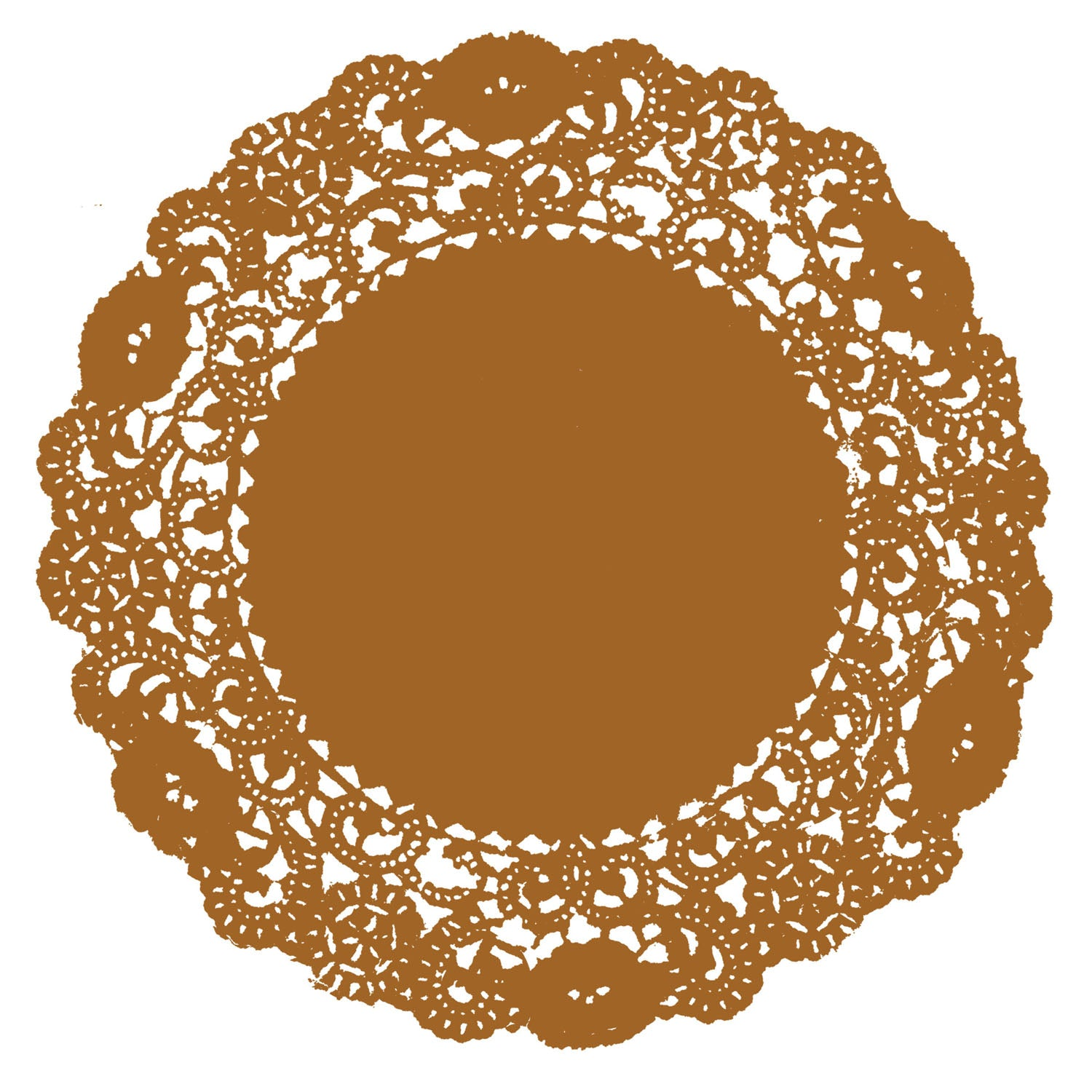 Old Gold Doily