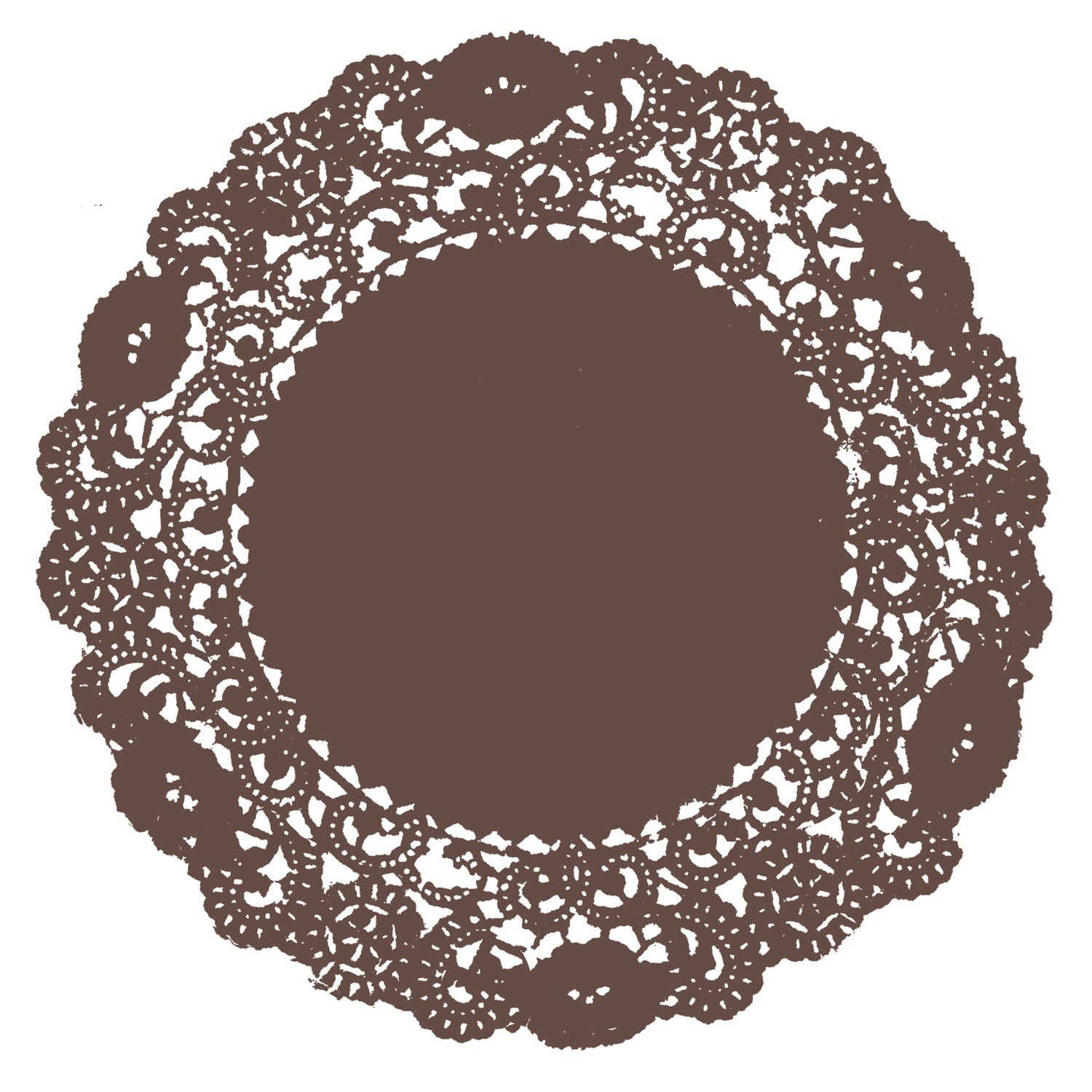 Friar Brown Doily