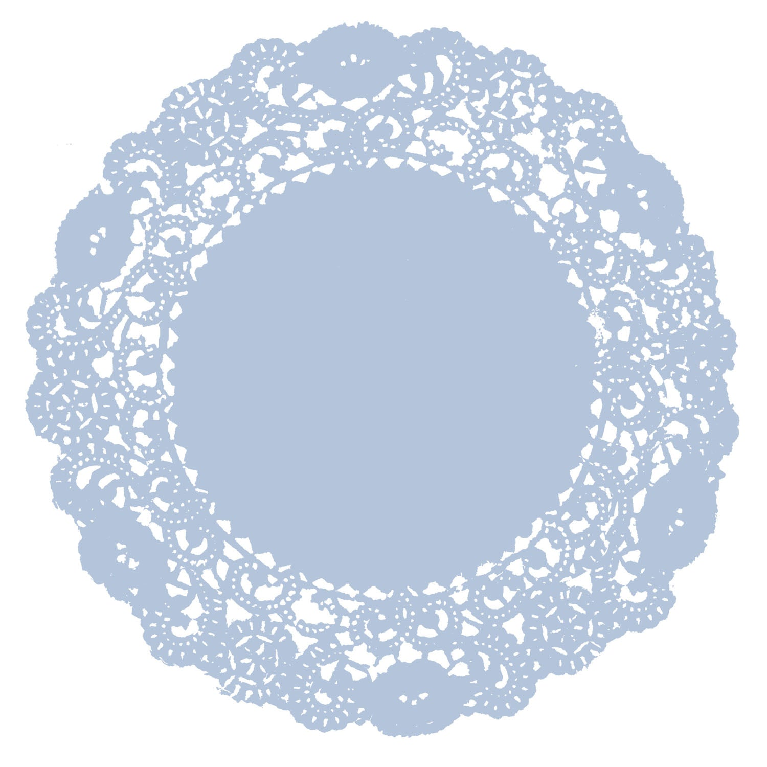 ice Blue Doily