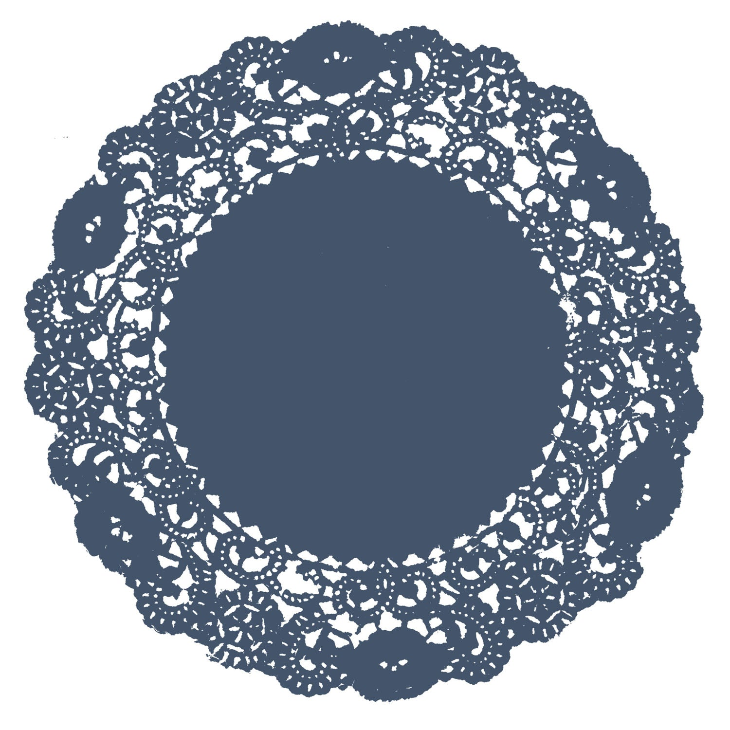 Nautical Blue Doily