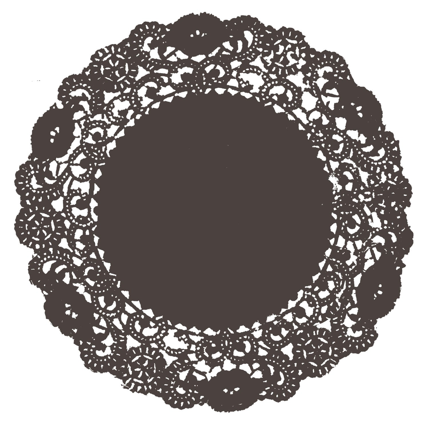 Coffee Bean Doily