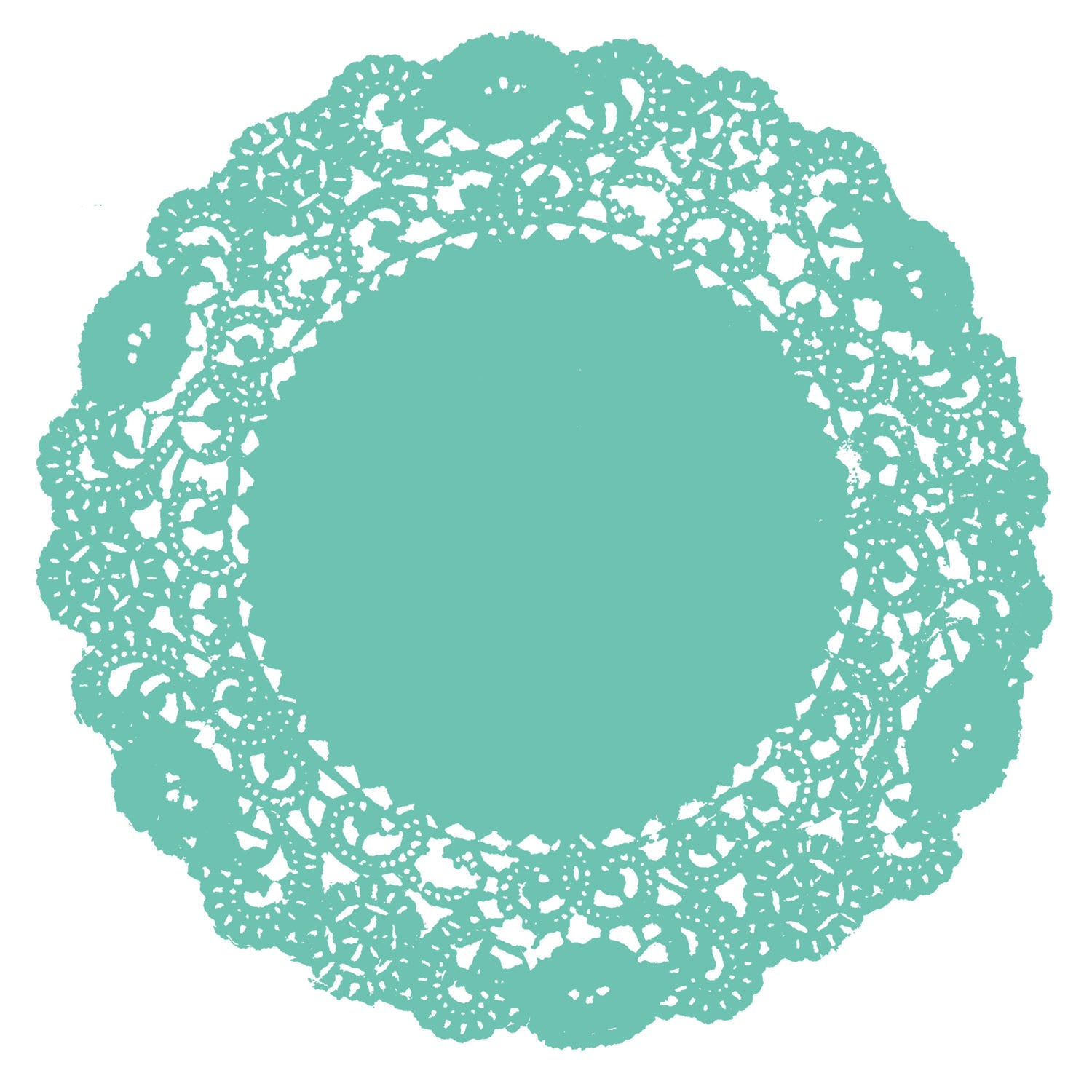 Mermaid Doily