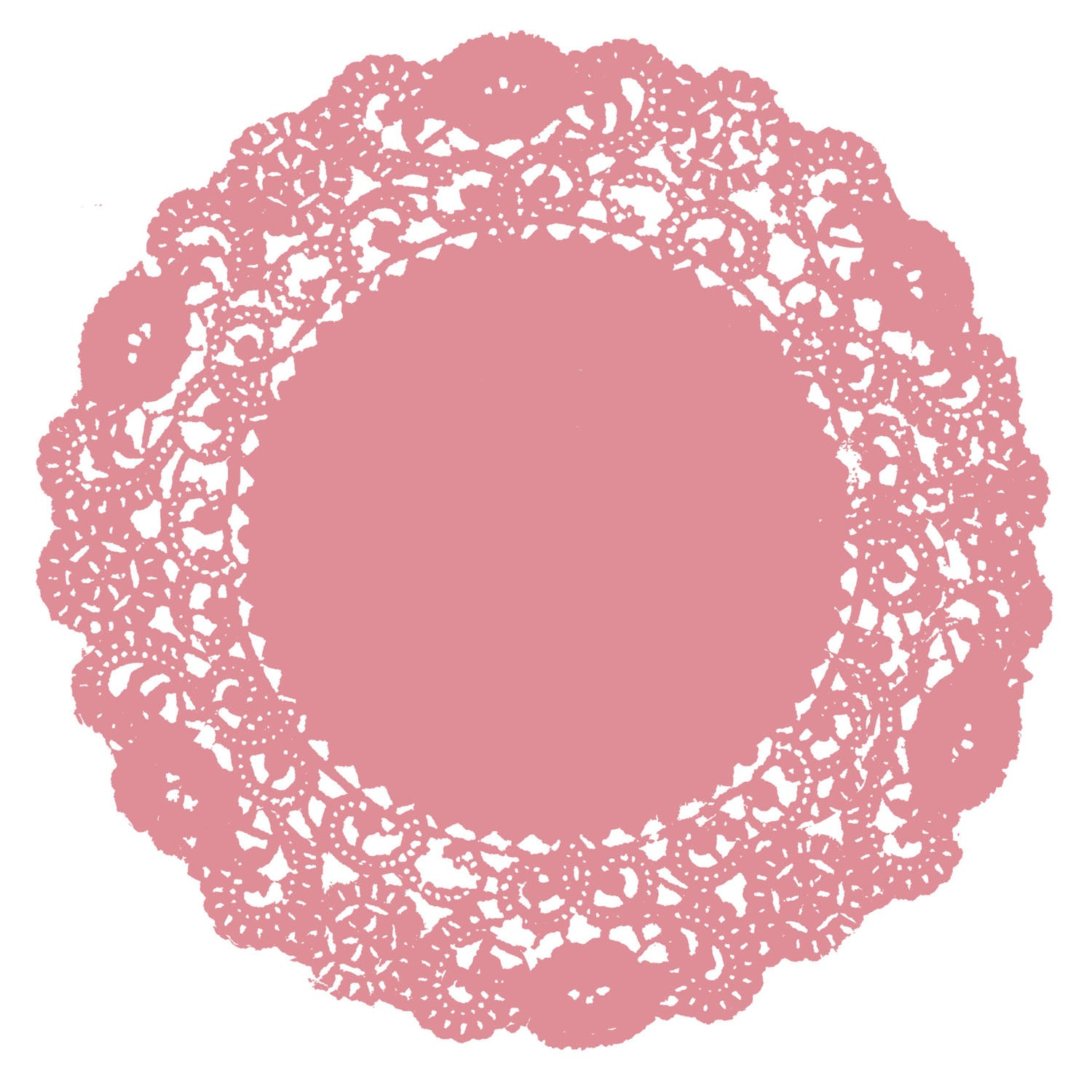 Pink Sorbet Doily