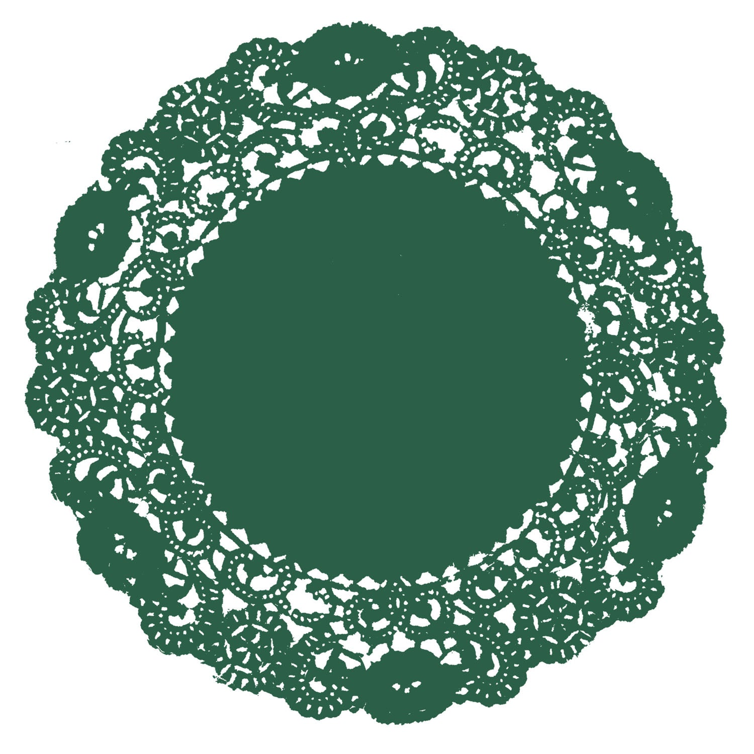 Emerald Green Doily