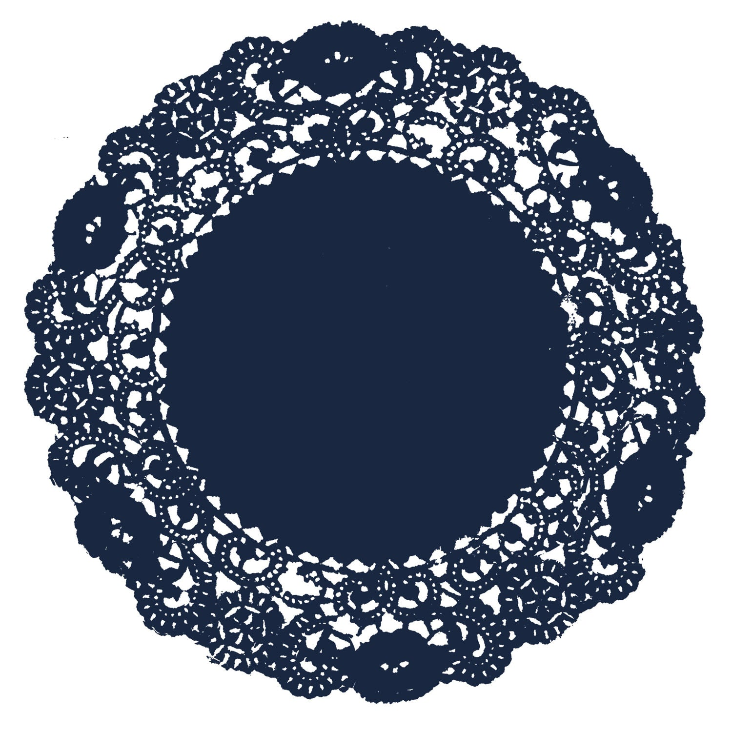 Space Blue Doily