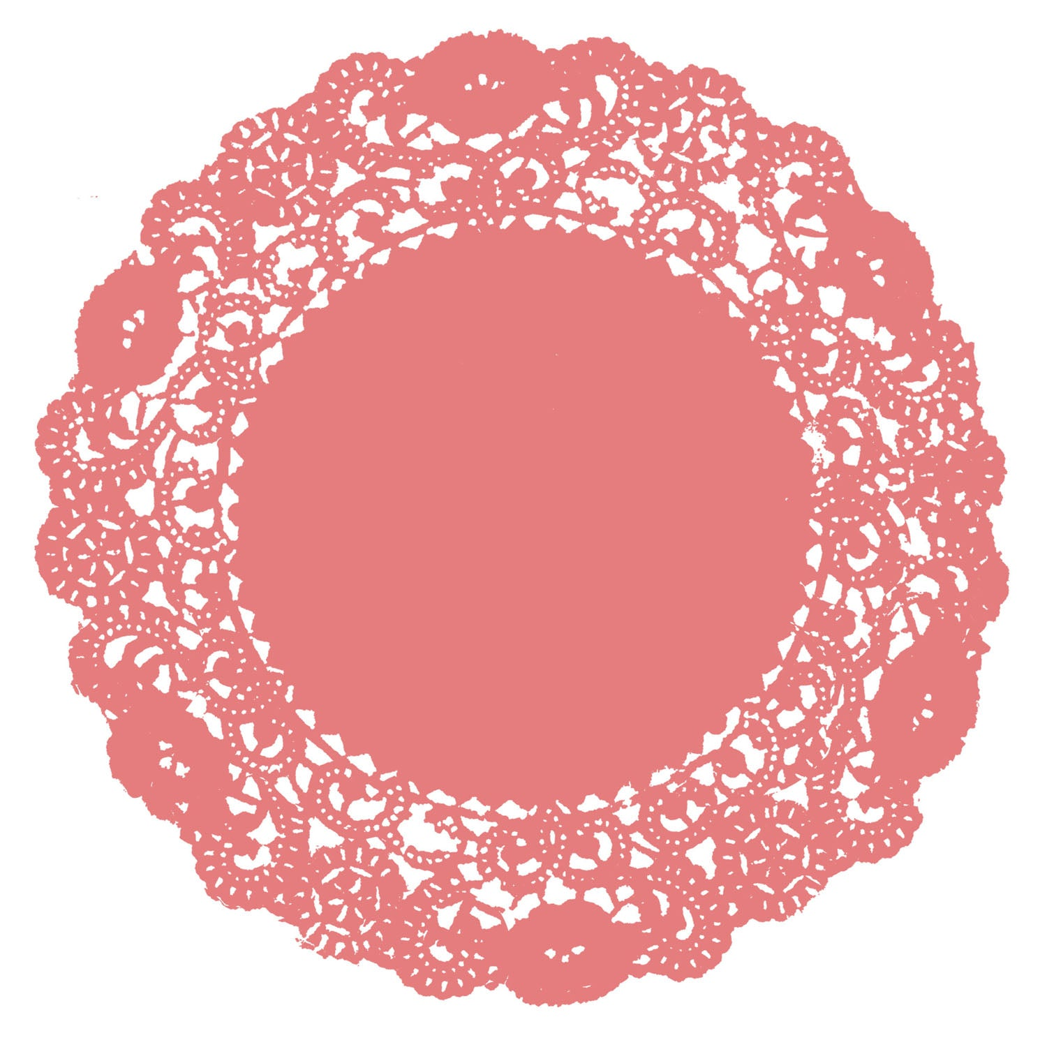 Coral Reef Doily