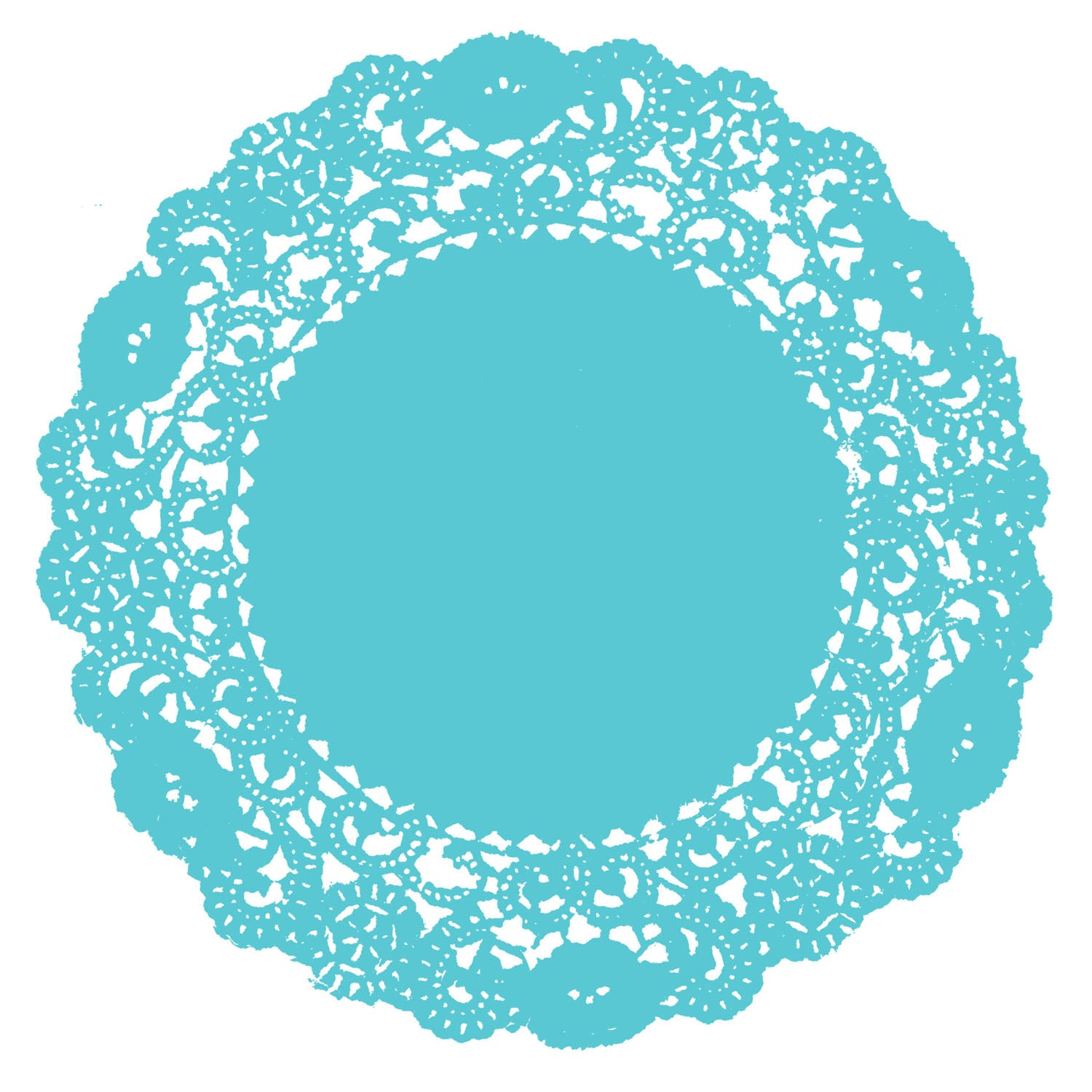 Belize Blue Doily