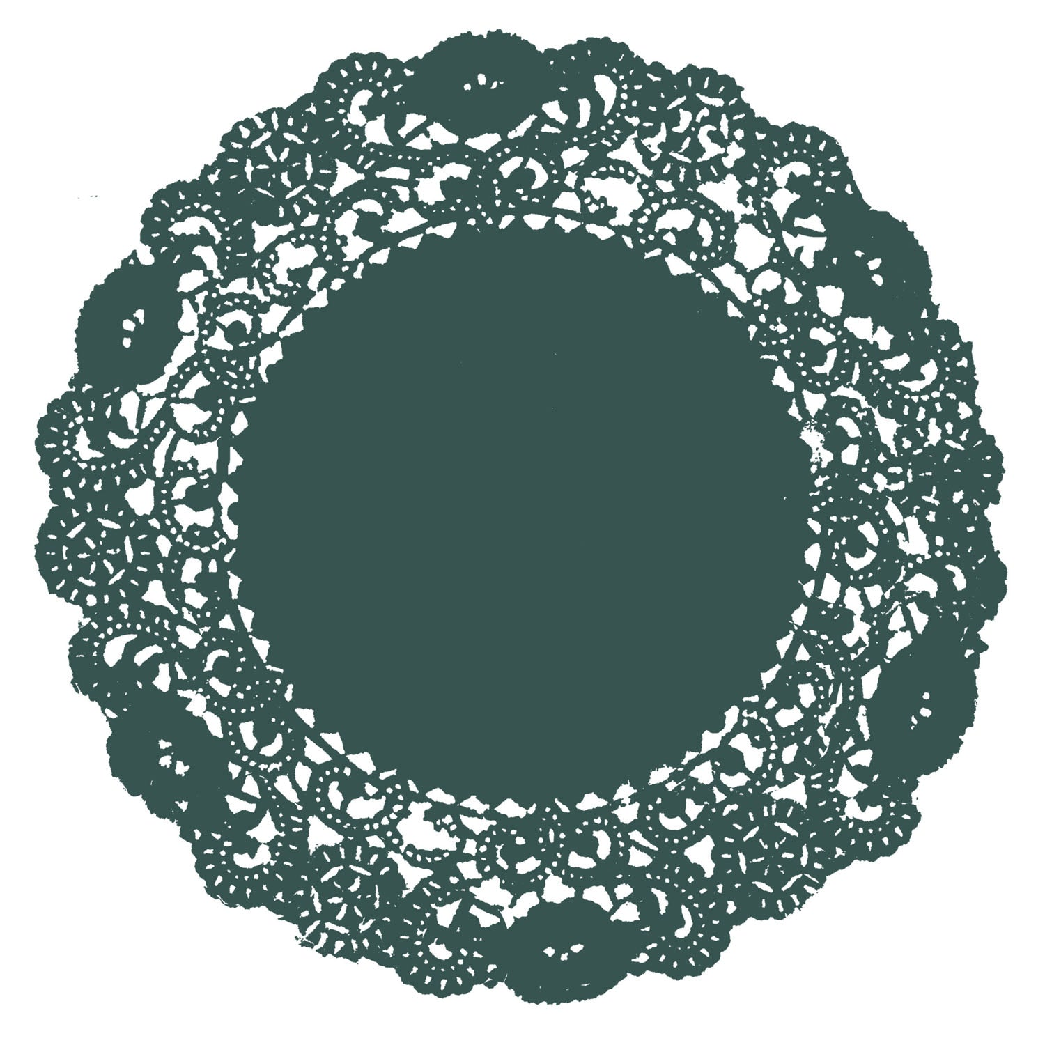 Tropical Green Doily
