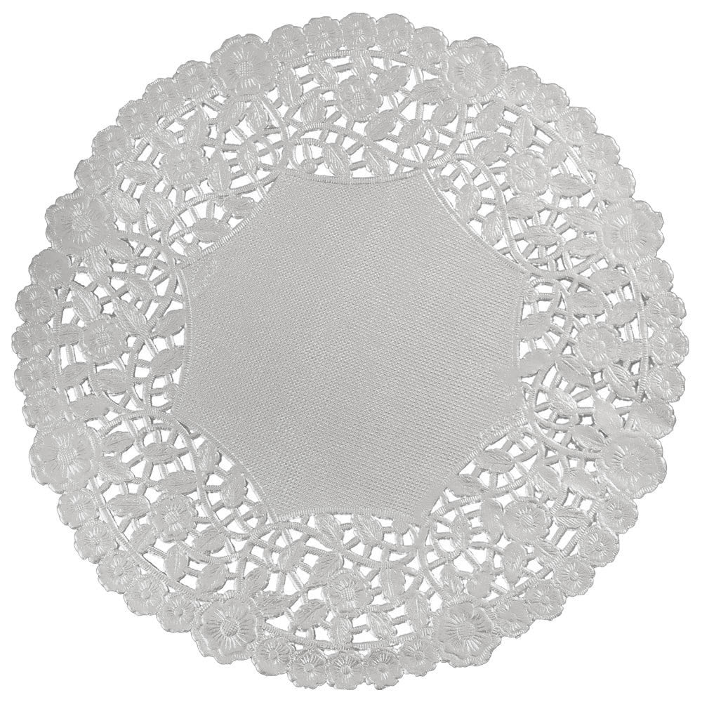 "SILVER Foil Paper Doilies || 4"", 6"", 8"", 10"", 12"" 