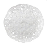 CHARCOAL French Lace Doilies