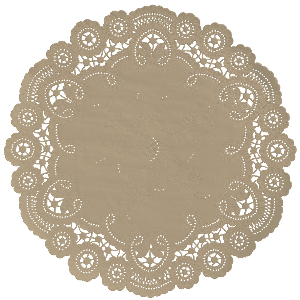 ALMOND French Lace Doilies