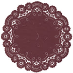 ANTIQUE ROSEWOOD French Lace Doilies