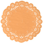 APRICOT French Lace Doilies