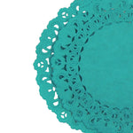 AQUA MARINE Blue Normandy Doilies