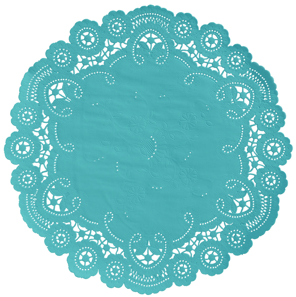 AQUA MARINE French Lace Doilies