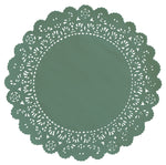 ASPEN GREEN Normandy Doilies