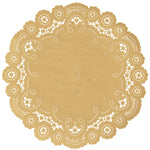 AUTUMN GOLD French Lace Doilies