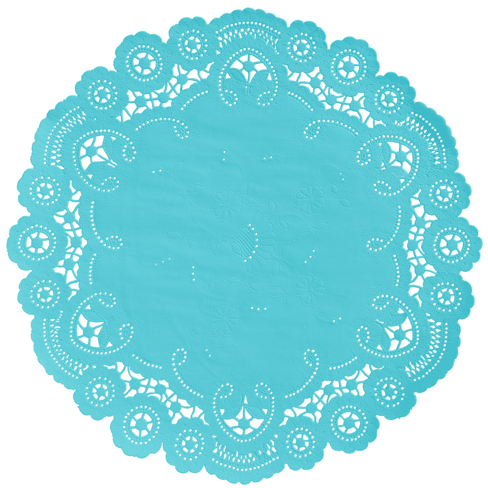 BELIZE BLUE French Lace Doilies