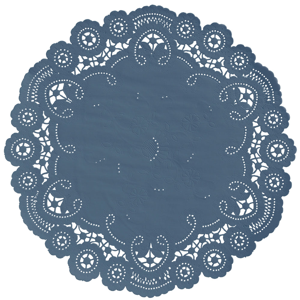 BLUEBERRY French Lace Doilies