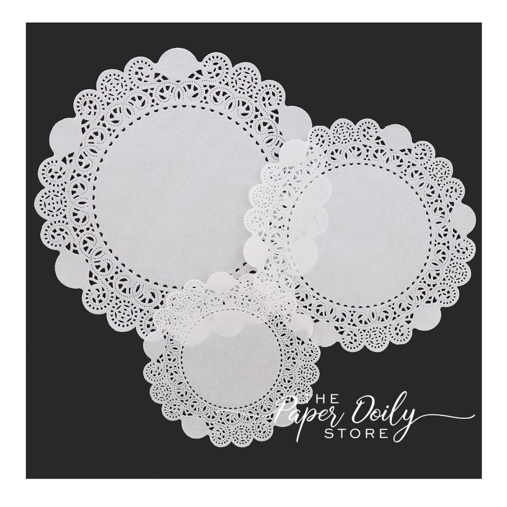 Economy priced White paper doilies