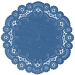 CLASSIC BLUE French Lace Doilies