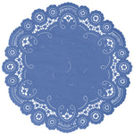 CORNFLOWER French Lace Doilies