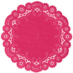 CUPID PINK French Lace Doilies