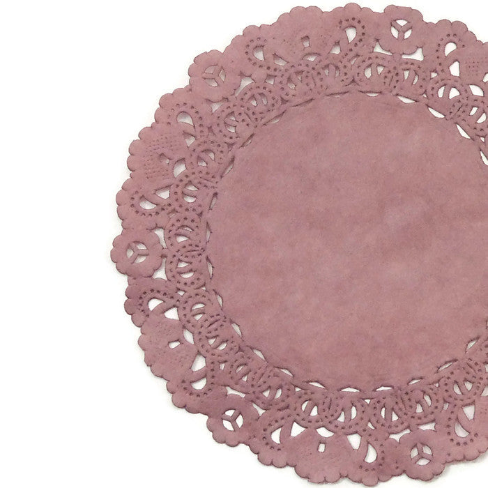 QUARTZ PINK Normandy Doilies **