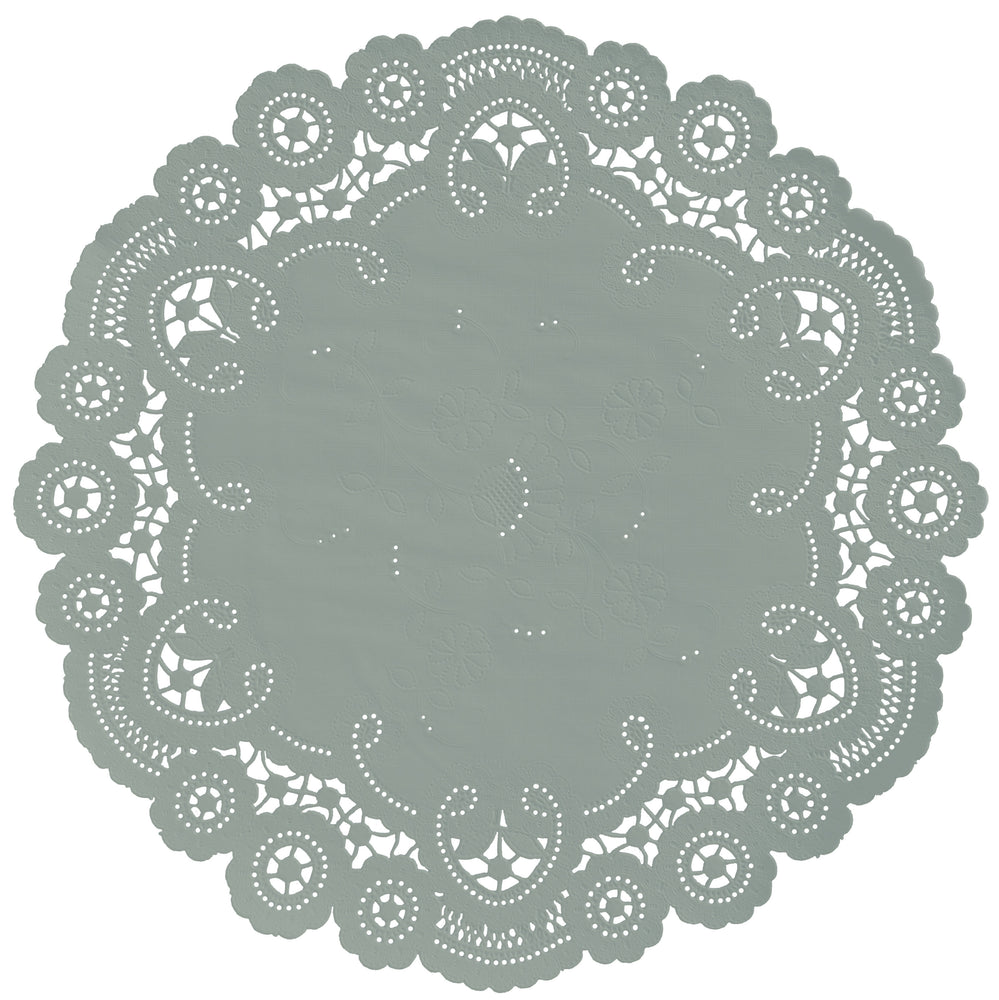 EUCALYPTUS GREEN French Lace Doilies