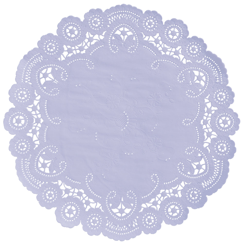 LAVENDER French Lace Doilies