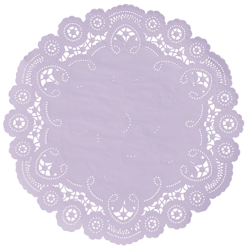 HEIRLOOM LILAC French Lace Doilies