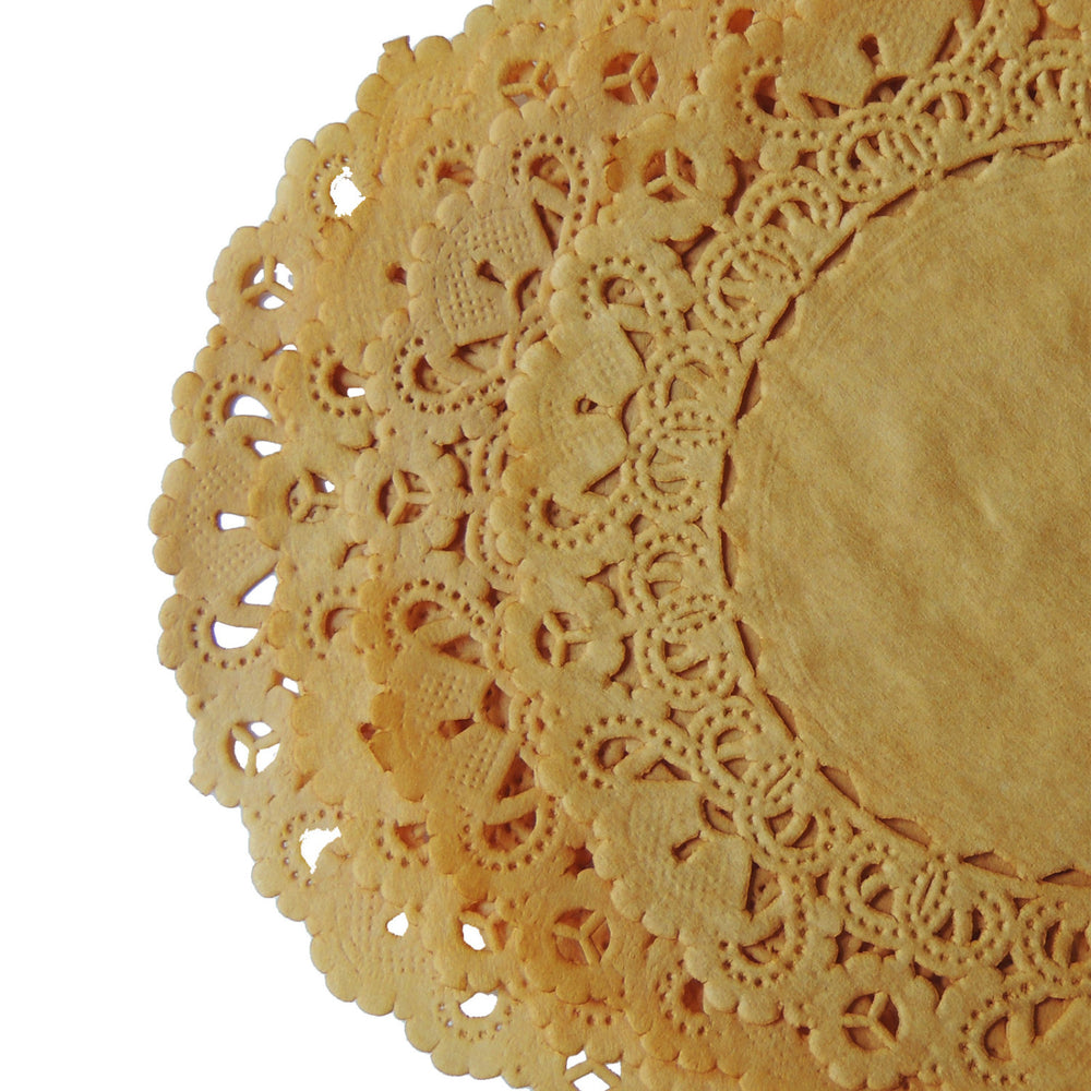 "HONEY GOLD Normandy Doilies | 4"", 5"", 6"" 8"", 10"", 12"", 14"", 16"""