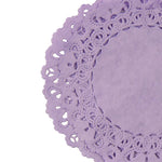 Violet Purple Normandy Doilies