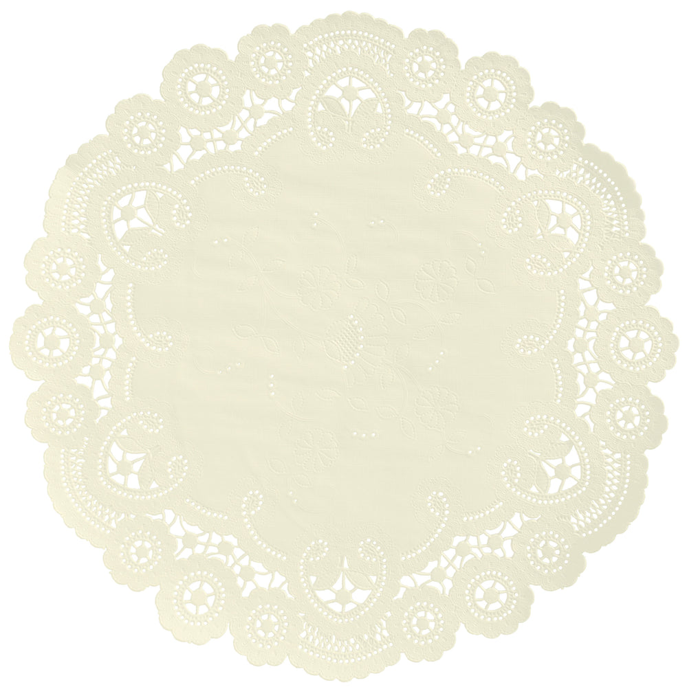 IVORY French Lace Doilies
