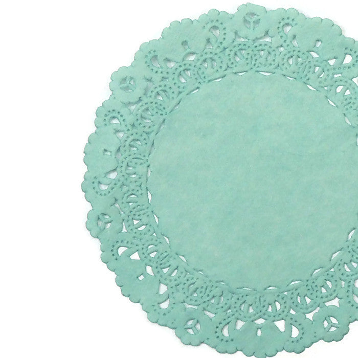 TAME TEAL Normandy Doilies