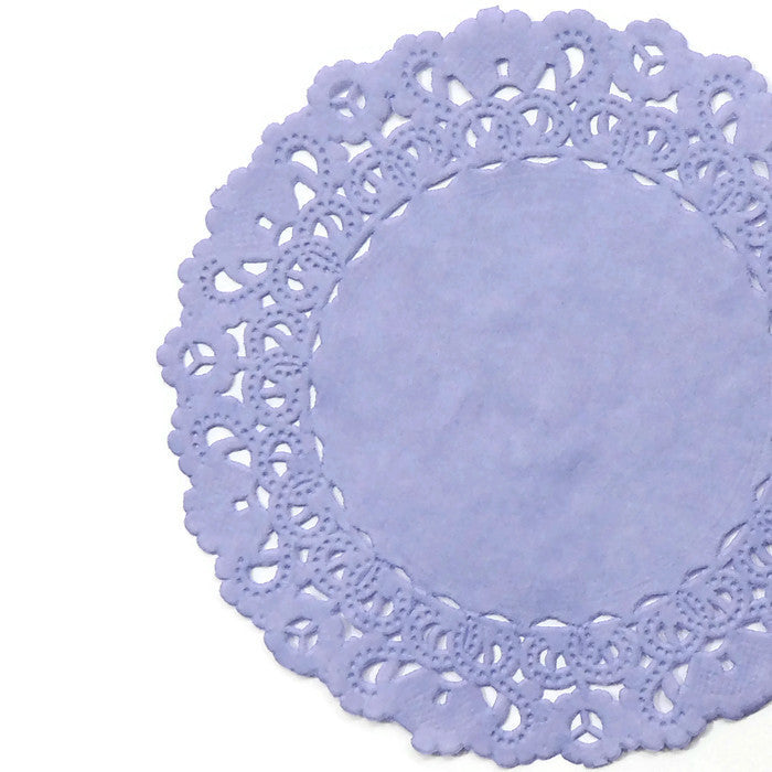 Lavender Normandy Doilies
