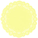 LEMON CHIFFON French Lace Doilies