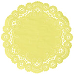 LEMON DROP French Lace Doilies