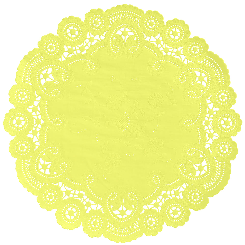 LEMON French Lace Doilies