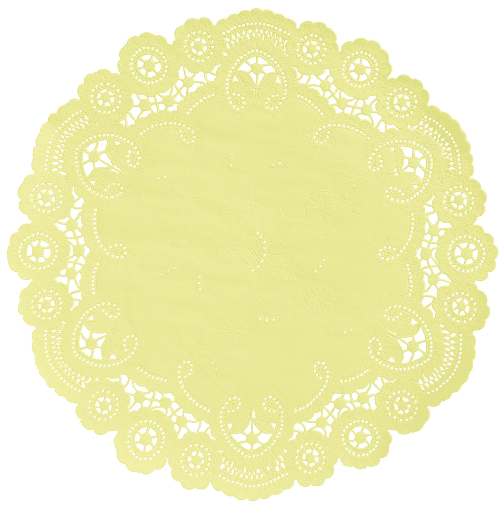LEMON SORBET French Lace Doilies