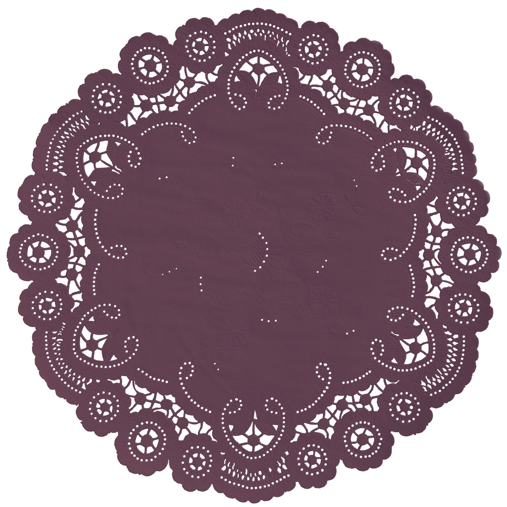 MERLOT French Lace Doilies