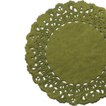 MOSS Green Normandy Doilies