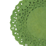 SPRING Green Normandy Doilies