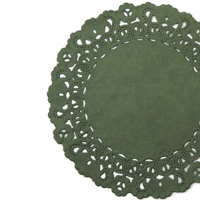 MUIR Green Normandy Doilies