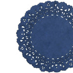 Nautical Navy Blue Normandy Doilies