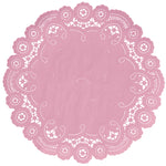 PETAL PINK French Lace Doilies