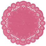 PINK LIPSTICK French Lace Doilies