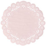 POWDER PINK French Lace Doilies